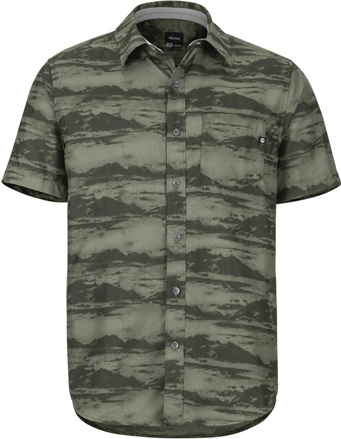 Marmot Syrocco T shirt manches courtes Homme, crocodile mountains